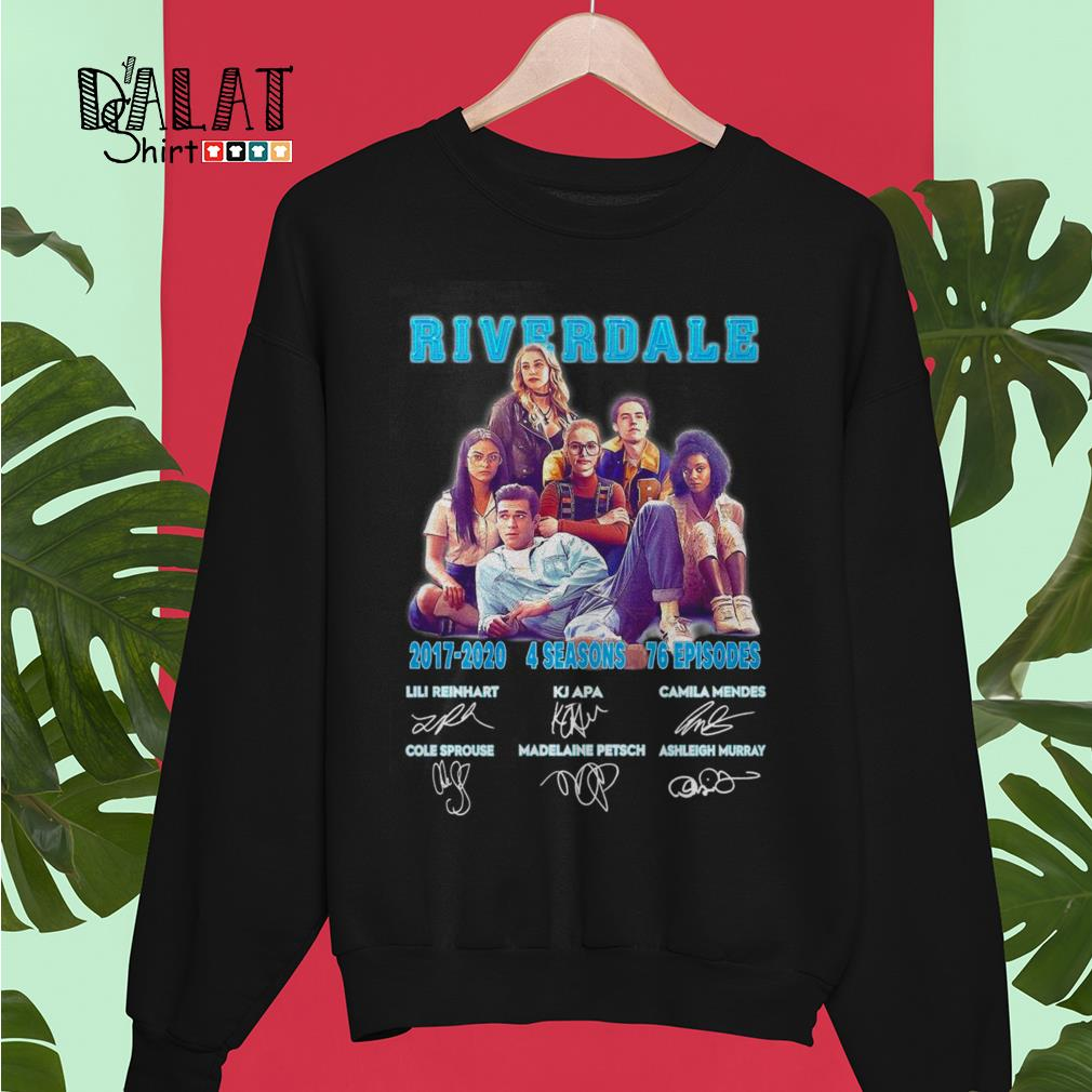 Riverdale 2017 2020 4 seasons 76 episodes signatures Sweater
