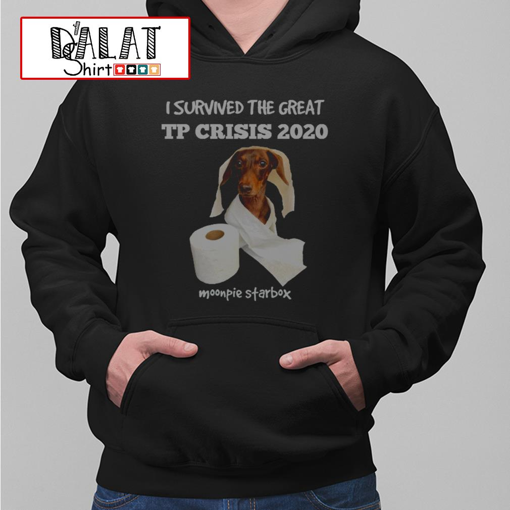 I survived the great tp crisis 2020 Moonpie Starbox Hoodie