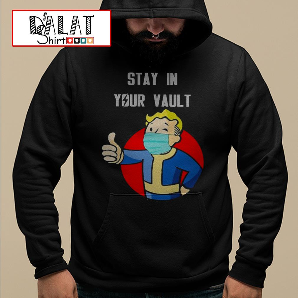 Fallout Boy stay in your vault Hoodie