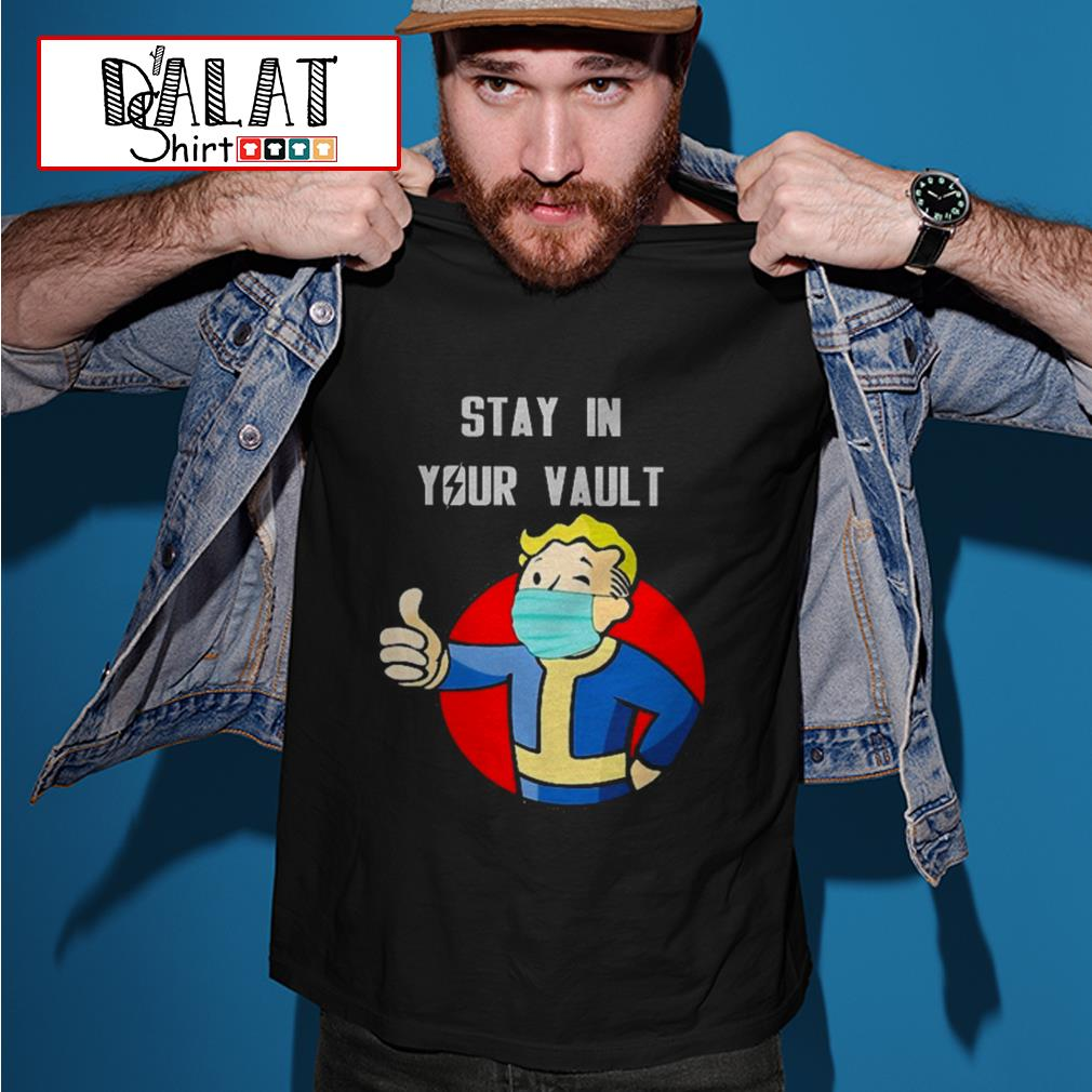 Fallout Boy stay in your vault shirt