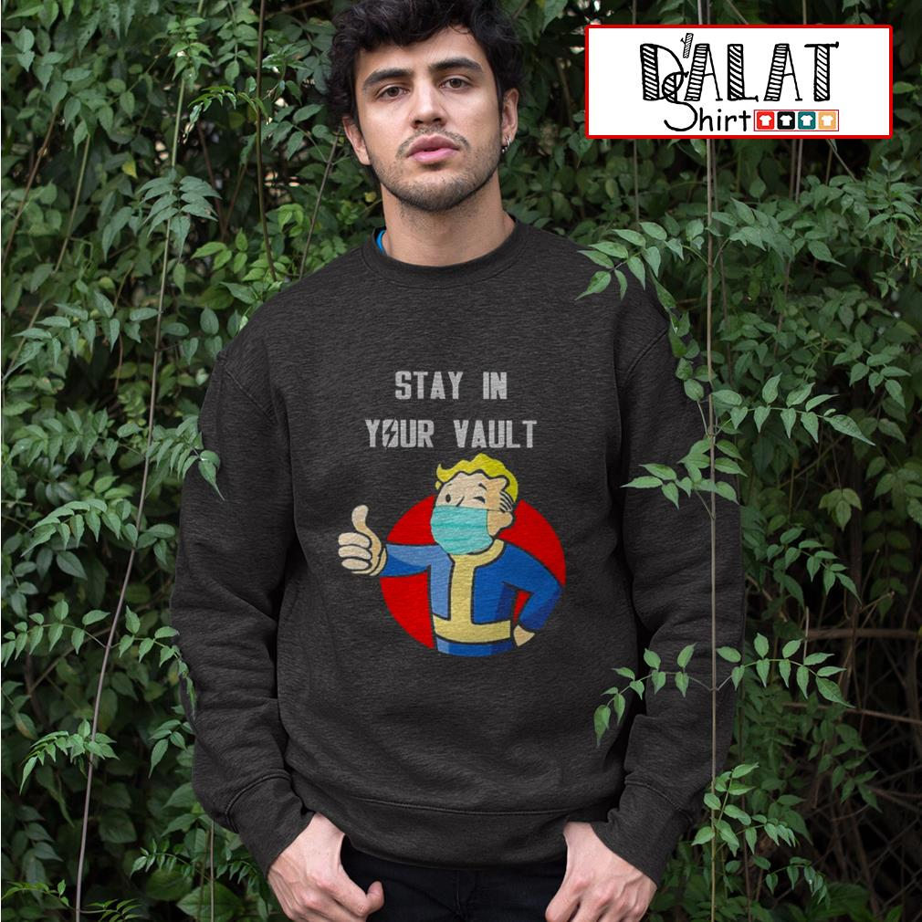 Fallout Boy stay in your vault Sweater