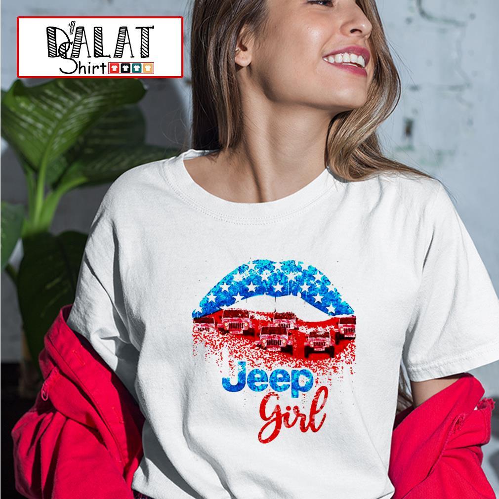 Lips Jeep Girl Ladies tee