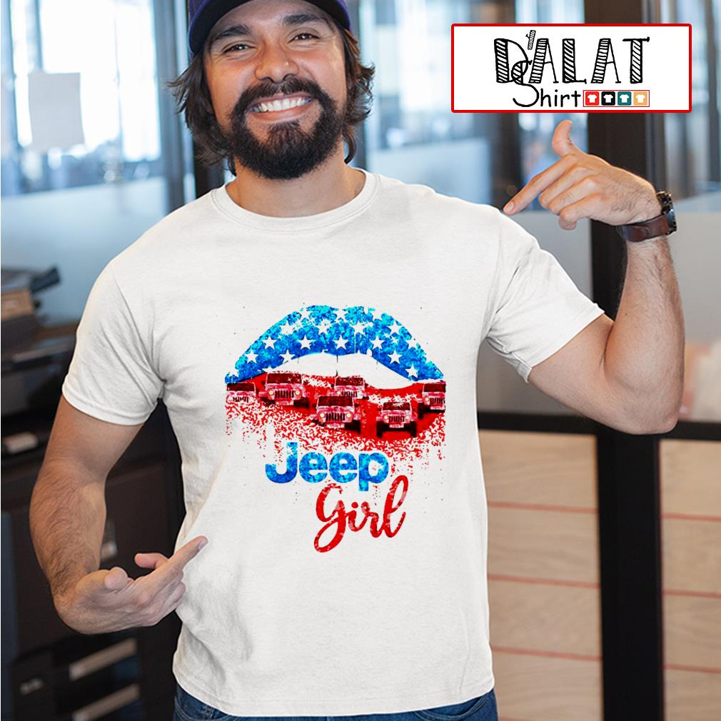 Lips Jeep Girl shirt