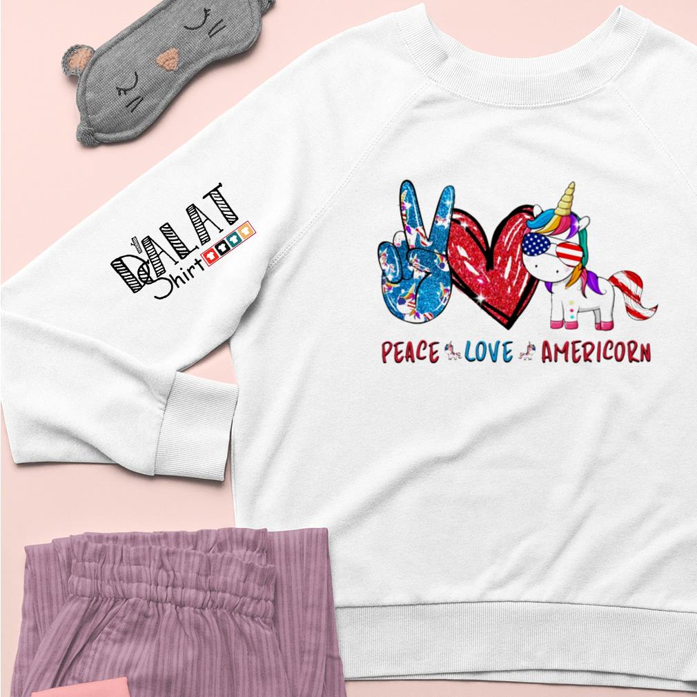 Peace love Americorn Sweater