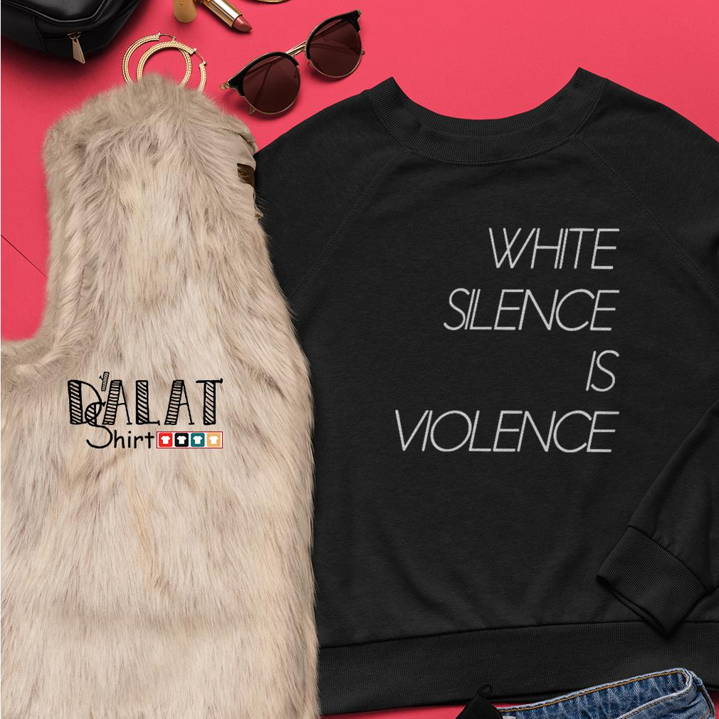 White silence is violence Sweater