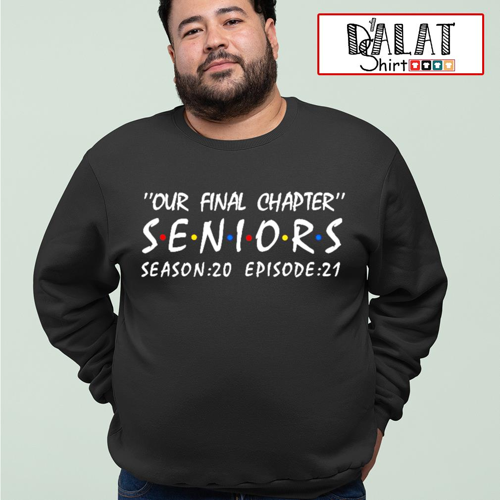 Our final chapter seniors season 20 episode 21 s sweater