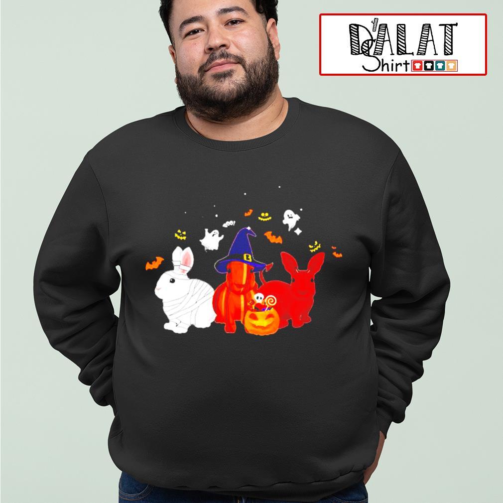 Rabbit Pumpkin Halloween s sweater